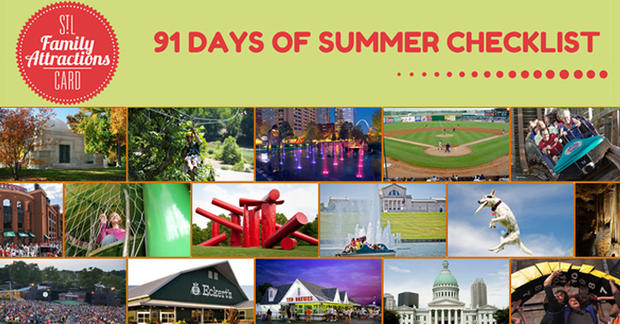 91 Days of Summer Checklist