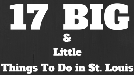 17 Big and Little Things to Do in St. Louis