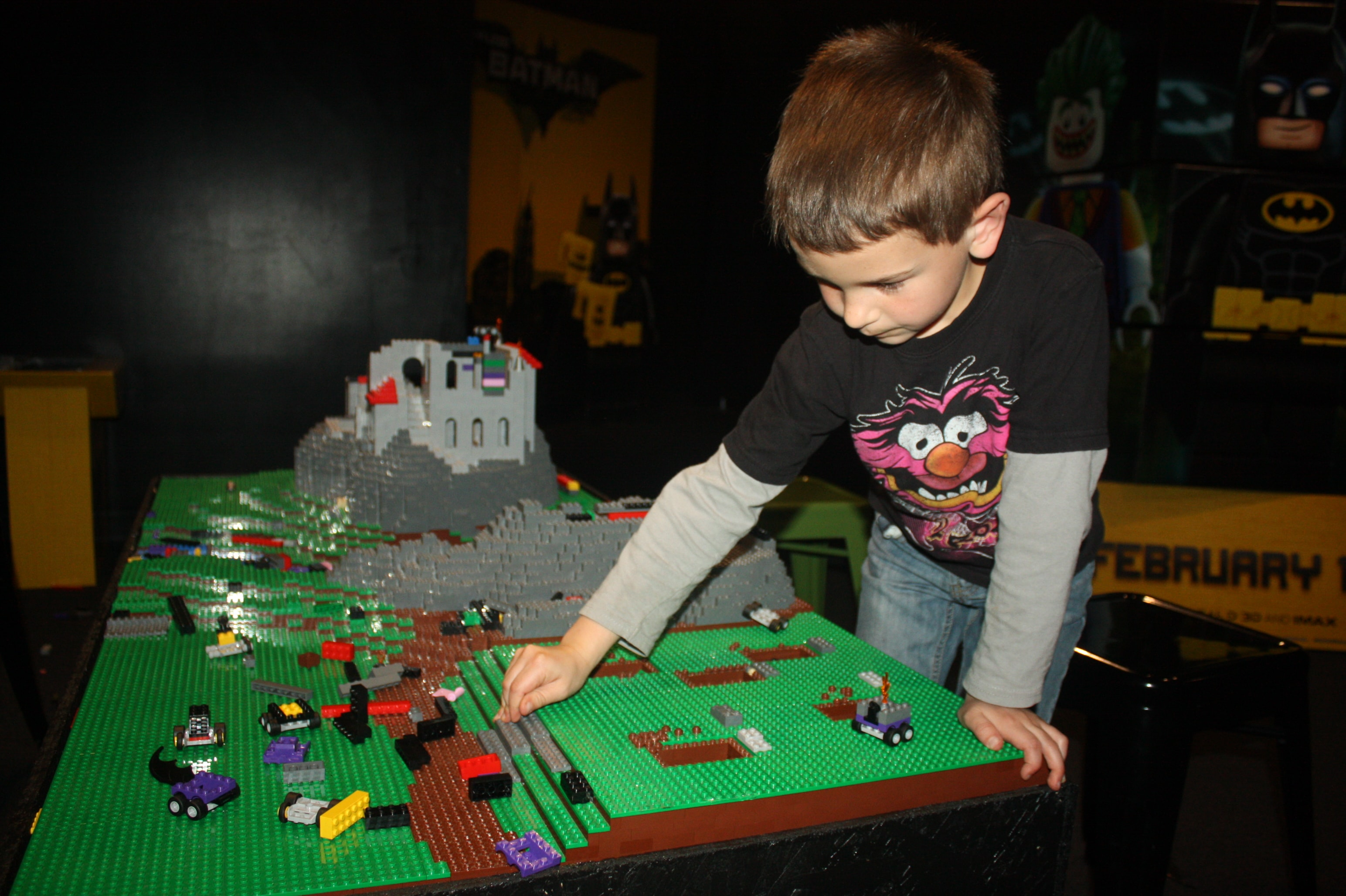 boy playing at LEGOLAND