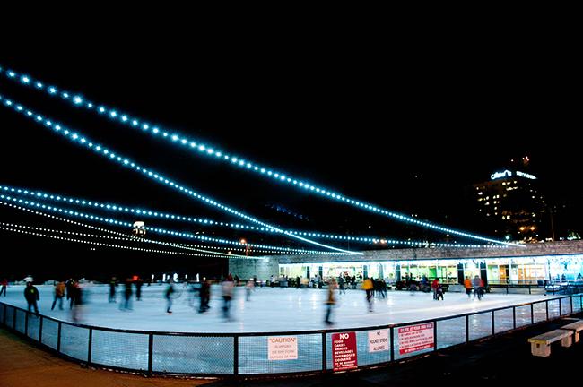 Steinberg Skating Rink Forest Park