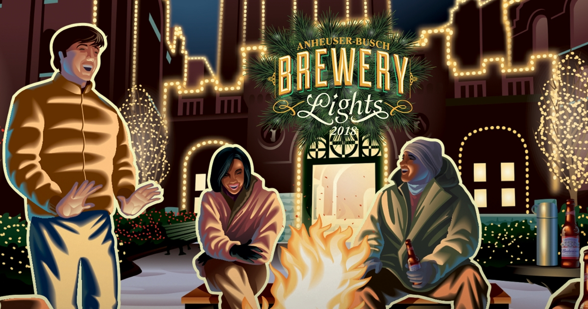 Brewery Lights holiday light displays in St. Louis
