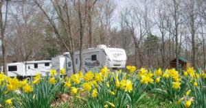 camping at Pin Oak Creek RV Park