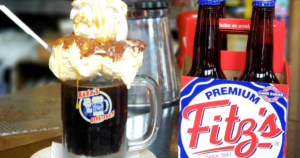 Fitz's Root Beer and Float