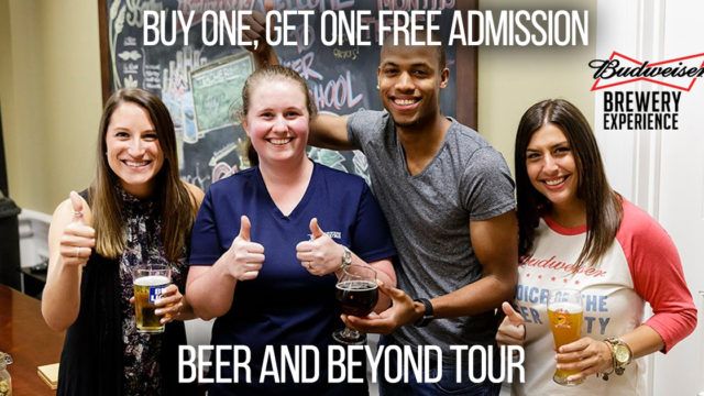 Save on Admission to the Budweiser Beer and Beyond Tour