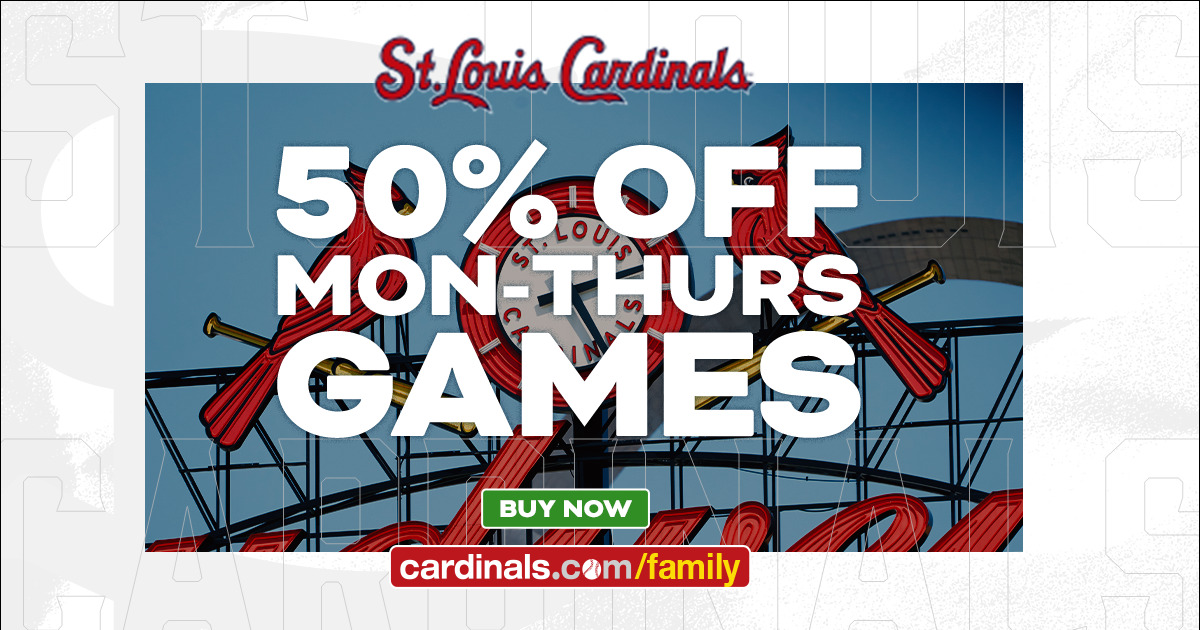 Cardinals 2021 Family Attractions Card Offer