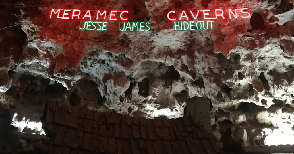 Meramec Caverns Jesse James Hideout