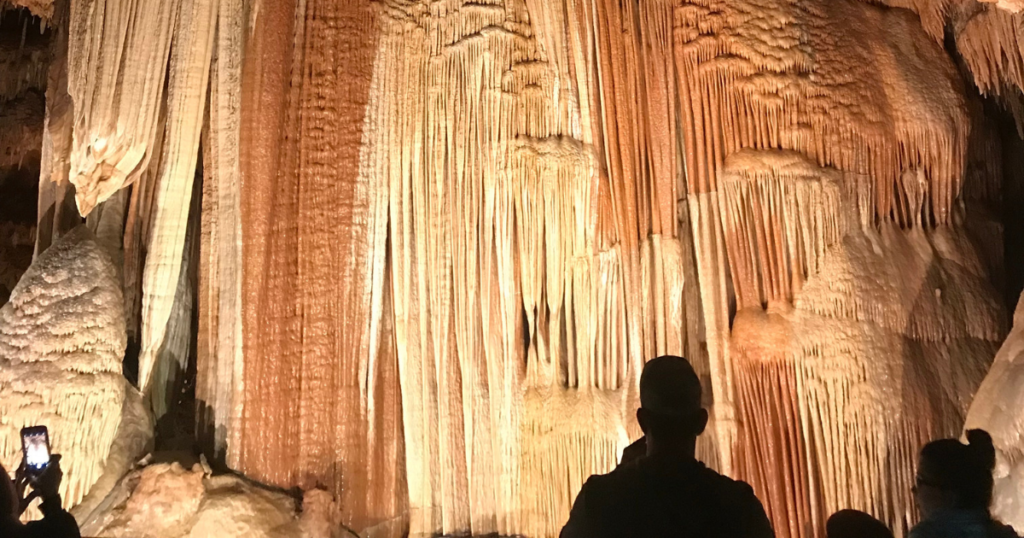 Meramec Caverns tour