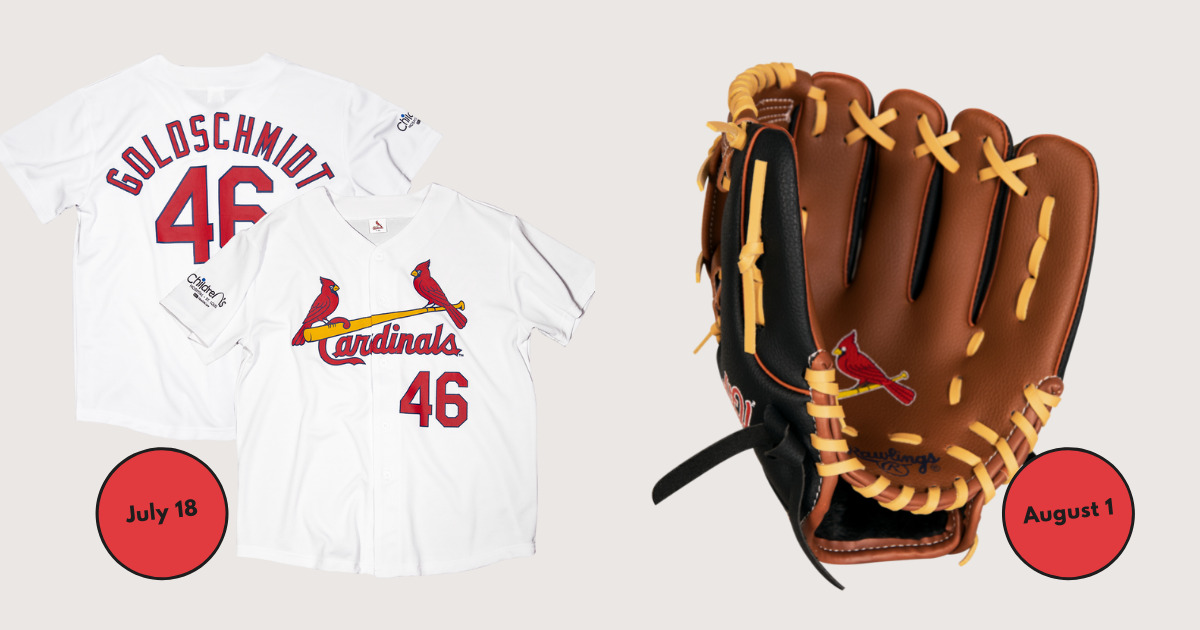 Cardinals Upcoming Promotional Giveaways